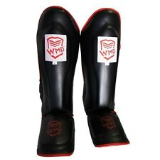 KICK BOXING MMA SHIN GUARDS SHINGUARD INSTEP LEG PADS