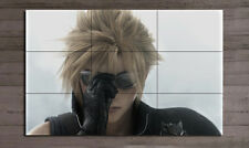 Final Fantasy 7 Advent Children Cloud mini Anime Poster #2