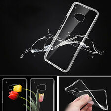 Slim Soft Transparent TPU Rubber Gel Skin Protector Case Cover for HTC ONE M9 US