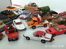 DIECAST VEHICLES FOR RESTORATION - CORGI AND OTHERS - click on the site to chose