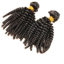 3 Bundles 6A virgin Brazilian Unprocessed afro kinky curly human hair extensions