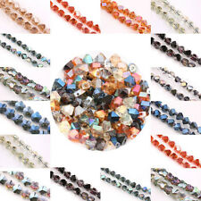 New Charm Glass Crystal Faceted Loose Pendant Spacer Finding Bead Butterfly etc.