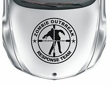 Zombie Oubreak #6 - vinyl cross-hairs car van sticker decal - WS1043