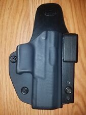 S&W AIWB Kydex/Leather Hybrid Holster small print with adjustable retention