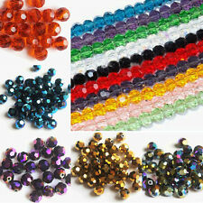 New Czech Glass Round Loose Spacer Beads Abstract Colors Findings 3/4/6/8 MM DIY
