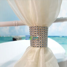 Rhinestone Napkin Rings 8 Row Diamond Wedding Party Sash Holder Table Decoration