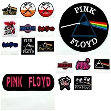 Pink Floyd Sew Iron On Patch Embroidered Logo Rock Band Heavy Metal Music Collec