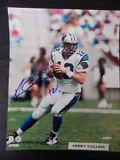 "Kerry Collins Autographed 8"" X 10"" Photograph"