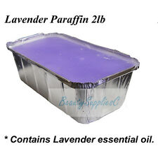 Paraffin Wax Refill 2lb - Lavender, Peach, Unscented, Chocolate  Made In Canada