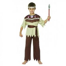 Boys Indian Brave Fancy Dress Costume Kids Child's Book Week Outfit 4 -12 Yrs