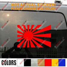 Japanese Japan Flag WW2 Military Car Trunk Bumper Decal Sticker
