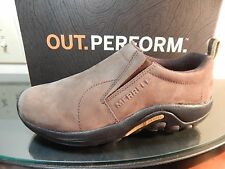 Merrell Jungle Moc Nubuck On Shoes Womens Brown Leather US Women's Sizes 5-9
