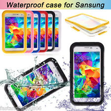 Waterproof Shockproof Case For Samsung Galaxy S5 S4 S3 S6 Edge G9200 Note 2 3 4
