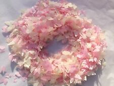 Large Box of Biodegradable Confetti / 25 Handfuls of Pink or Peach Butterflies