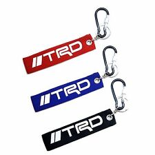 TRD Key Strap, Keychain Key Ring With Aluminum Carabiner D-Ring