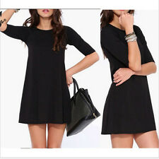 NEW Women Summer Bandage Bodycon Evening Sexy Party Cocktail Mini Dress Black