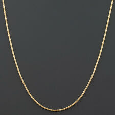 14K YELLOW, WHITE OR ROSE GOLD .7mm FLEXIBLE D/C ROUND SNAKE CHAIN FREE SHIPPING