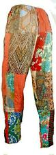 FAIR TRADE INDONESIAN MULTICOLOURED PATCHWORK HIPPY FESTY TROUSERS 500