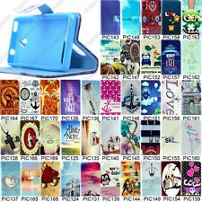 Multi Pattern Leather Flip Case HOLDER For Sony Xperia E1