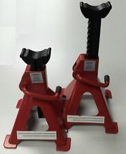 Pair of 2 Ton 2000kg Jack Stands Axle Stand Adjustable Automotive, Mechanics,Car