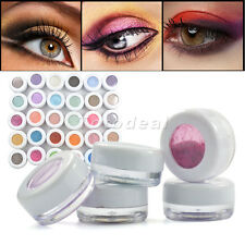 30 Pigment Colors Makeup Kit Mineral Eyeshadow Loose Powder Makeup Bright