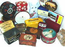 VINTAGE TINS ~ click HERE to browse or order