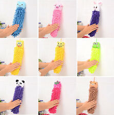 Kitchen Clearing Bathroom Hand Towel Office Car Use Cartoon Absorbent Dry