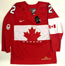 DUNCAN KEITH TEAM CANADA HOCKEY 2014 OLYMPICS GOLD MEDAL NIKE JERSEY NEW W/ TAGS