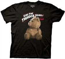 Ted - Mens Sing The Thunder Song T-shirt in Black