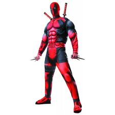 Deadpool Costume Adult Marvel Superhero Cosplay Halloween Fancy Dress