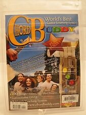 New Chord Buddy World's Best Guitar Learning System w Instructional DVD