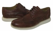 Cole Haan Mens Lunargrand Wing Tip Woodbury Lace Up Business Casual Dress Shoes