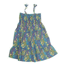 Orig. Nolita Pocket Mädchen Kleid  Modell Ostrich X71 blue flowers Dress Neu