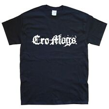 CRO-MAGS new T-SHIRT sizes S M L XL XXL colours black white