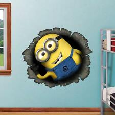 Despicable Me 2 Decor Decal Minion Kids Stickers Removable Wall Sticker Room art