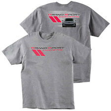 C6 Grand Sport Corvette T-Shirt, Sport Gray -- FREE Shipping