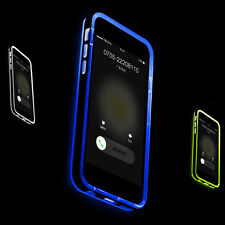 LED Blink Light Remind Incoming Call TPU+PC Cover Case For Iphone 5 6/6Plus