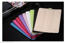 3 Fold Leather Smart Case Cover for Apple iPad 2 3 4 5 6 Air 1 2 Mini 1 2 3 flap