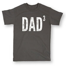 Dad ^3 Funny Best Dad Ever Nerd Geek Daddy Father's Day Humor - Mens T-Shirt