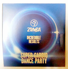 ZUMBA INCREDIBLE RESULTS DVD SUPER CARDIO DANCE PARTY DVD ONLY BRAND NEW SEALED