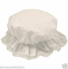 New Childs Kids Mop Hat Victorian Frill Cap Oliver Twist Orphan Play Fancy Dress