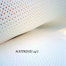 "2""  SOFT NATURAL LATEX MATTRESS TOPPER  -- ALL NATURAL -- DUNLOP LATEX"