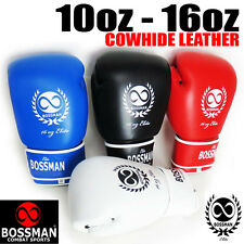 BCS 'ELITE' BOXING GLOVES - 14oz, 16oz - sparring, MMA, training, stand up, UFC