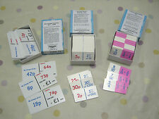 TASKMASTER DOMINO Game SEN Maths Teaching Resource Fraction Percentage Currency