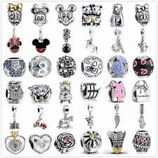 Silver Charms Beads Fit European 925 sterling silver charm Bracelet bangles A26
