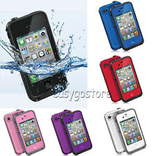 Waterproof Shockproof Heavy Duty Hard Case Cover for Apple iPhone 4S 4 4G New