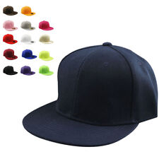 2015 Hot Fashion Blank Plain Snapback Hats Hip-Hop Adjustable BBoy Baseball Cap