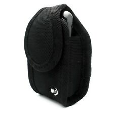 BLACK NITE IZE BELT HOLSTER RUGGED CARGO CLIP CASE COVER POUCH for VERIZON PHONE