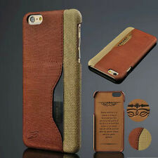 For Apple iPhone 6 6 Plus Wallet Pu Leather Credit Card Holder Case Back Cover