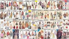 Butterick Sewing Pattern Tops Blouses Shirts Vest Jacket Misses Size You Pick